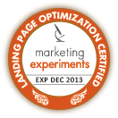 Marketing Experiments Certified Landing Page Optimization Professional